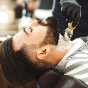 straight edge razor shave