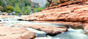 slide rock in Sedona